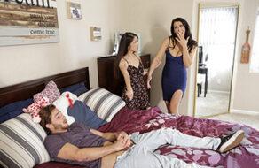 madre hace trío con la hija y su novio