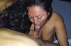 Madurita infiel chingando con el jefe de su marido