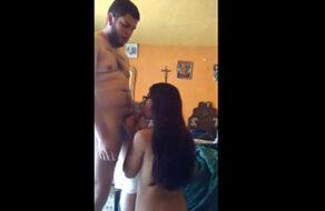 se folla a una mexicana católica