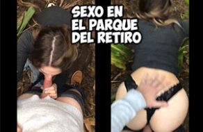 joven española es follada en el parque