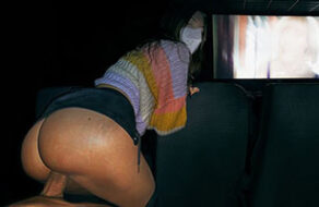 sexo en un cine público