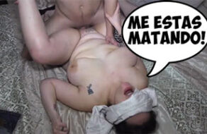gorda española adicta al sexo duro